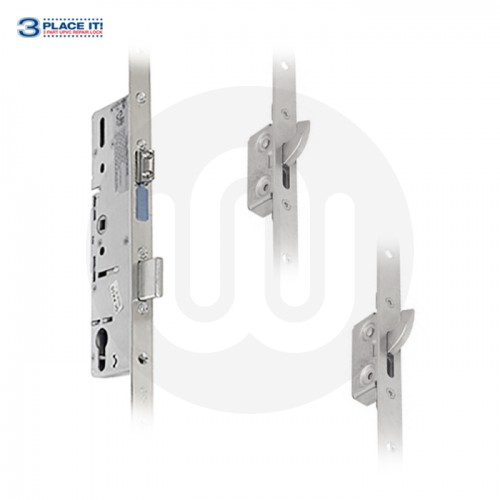 ERA Style 3PLACEIT Lock 20mm Faceplate - 2 Small Hook