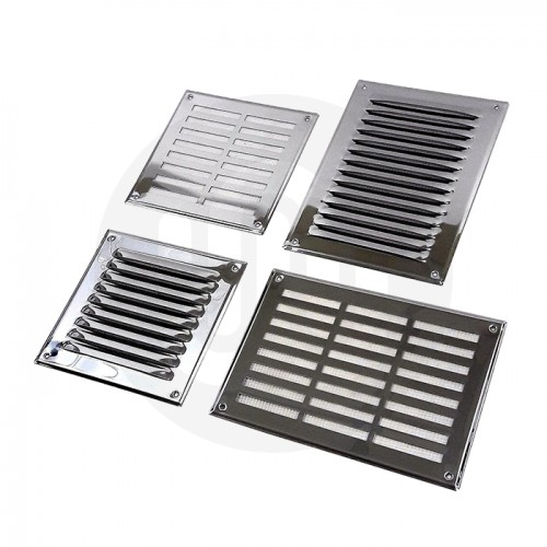 Stainless Steel Louvre Air Vent Grille Cover