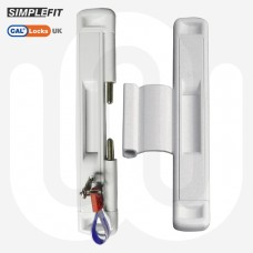 CAL Slide-Lok - Sliding Patio Door Lock for Double Doors