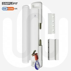 CAL Slide-Lok with Handle for Single Doors