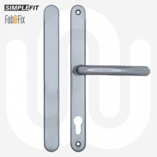 Simplefit by Fab & Fix 92mm Door Handle Blanks with Blind Plate - Large Cover (270mm)