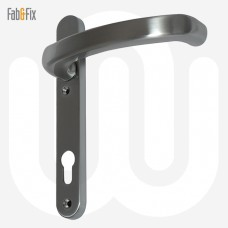 Fab & Fix Extended Lever Door Handle - Short Backplate (206mm)