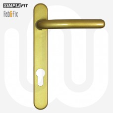 Simplefit by Fab & Fix 92mm Door Handle - Short Cover (206mm)