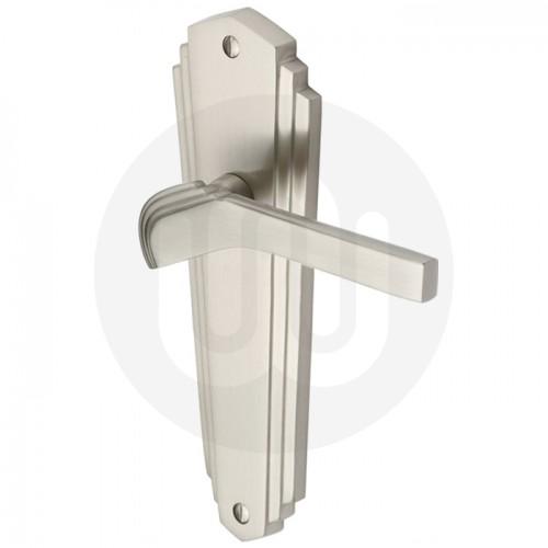 Art Deco Style Lever Latch Door Handle