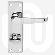 Bathroom Timber Handles - Long Plate