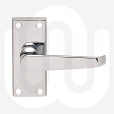 Latch Timber Handles - Short Plate