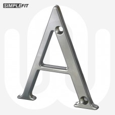 Simplefit Letters A-F 80mm - Screw Fix