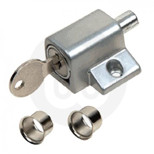 Push Button Patio Door Lock