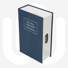 Blue Combination 3 Digit Home Safe Book Design