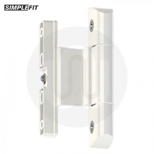 Simplefit Adjustable Rebated Butt Hinge 9-16mm All-In-One