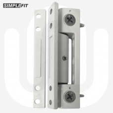 Simplefit Flat or Angled All-In-One Standard Butt Hinge 100mm