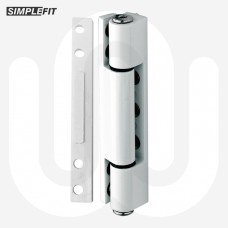 Simplefit Flat or Angled All-In-One Standard Butt Hinge 115mm