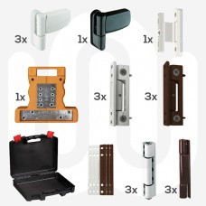 Rebate Butt Hinge Repair Kit & Free Carry Case