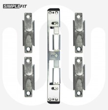 Simplefit Centre / Latch Deadbolt / Roller / Mushroom Keep Set