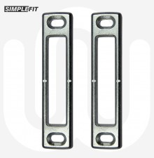 Simplefit Latch / Hook / Deadbolt / Shootbolt All-Rounder Keep - Pack of 50