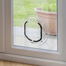 Large Cat / Small Dog Flap for Glass Panels
