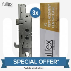 SPECIAL OFFER! 3x Genuine Fullex XL Centre Cases - Double Spindle / 35mm Backset