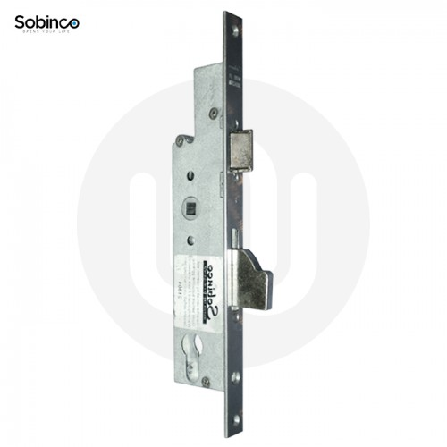 Sobinco Centre Mortice Lock - Flat Faceplate