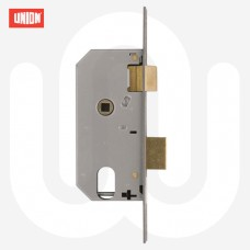Union L2278 Oval Double Throw Mortice Sashlock