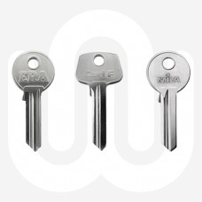 Standard Half Euro Cylinder Key Blanks - Pack of 10
