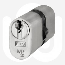 10-Pin High Security Oval Cylinder