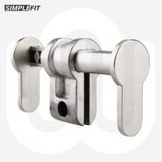 Simplefit Adjustable Euro Profile Dummy Cylinder