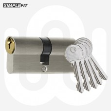 Simplefit 6-Pin Anti-pick Dual Finish Cylinders