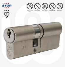 3 Star STOP Security Euro Cylinder - With 5 Keys