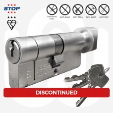 3 Star STOP Security Thumbturn Cylinder