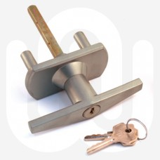 Short Spigot Garage Door Lock