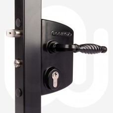 Industrial Gate Lock To Suit Box Section 30-50mm