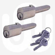 Oval Bullet Lock - Keyed alike pairs