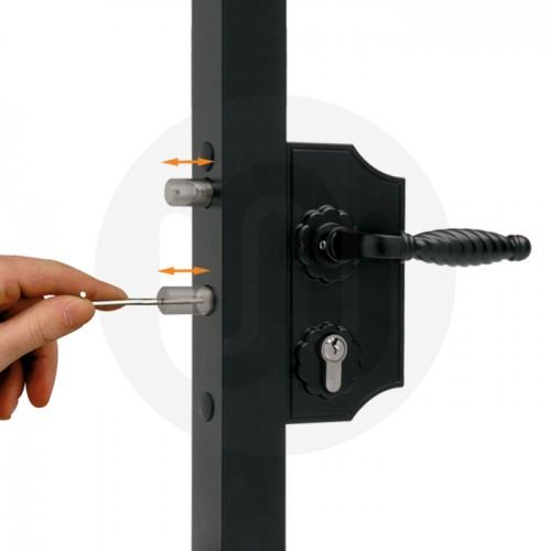 Ornamental gate lock - Large