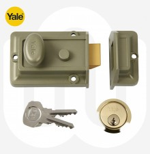 Yale Traditional Non Deadlocking Nightlatch 60mm