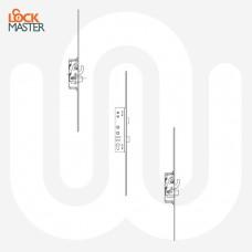 Lockmaster 2 Hooks 2 Anti-lift Pins Lock - 45mm U-Rail Faceplate