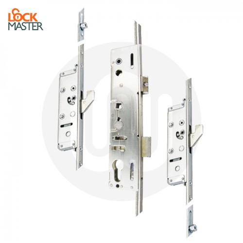 Lockmaster French Door Lock 2 Hook 2 Antilift Pin 2 Roller Opt2
