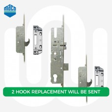 Maco 2 Roundbolt - Replacement Option with 2 Hook Keeps included