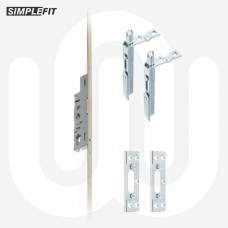 Simplefit Slave Multipoint Door Lock Shootbolts & Keeps Set