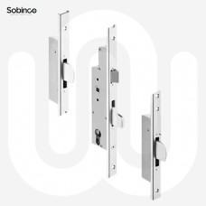 Sobinco 3 Deadbolt - U-Rail Faceplate