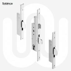 Sobinco 3 Deadbolt - U-Rail Faceplate