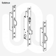 Sobinco 3 Deadbolt with Roller Catch - U-Rail Faceplate