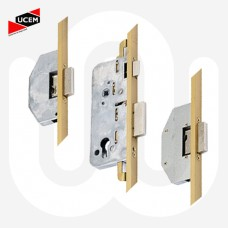 UCEM 3 Deadbolt - U-Rail Faceplate