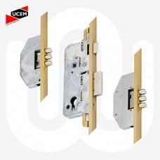 UCEM 6 Roundbolt - U-Rail Faceplate
