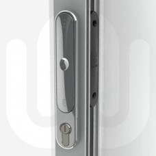 Aluminium Pop-Out Bi-Folding Patio Door Handle with Escutcheon