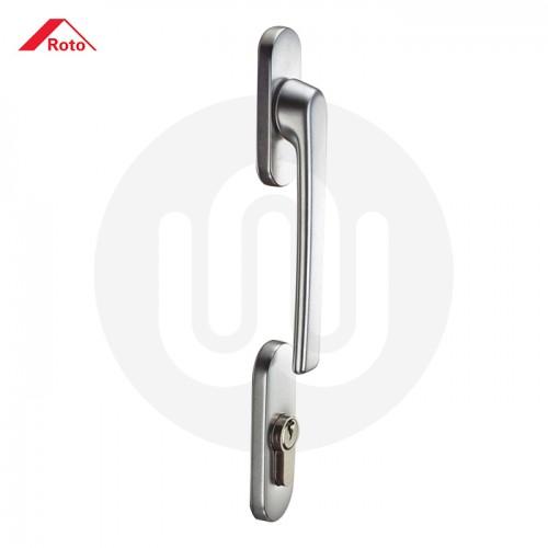 Roto Line Patio Door Handle Full Set Pair