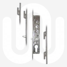 Laird Inline 4 Hook Patio Door Lock
