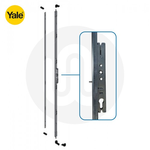 Yale 4 Hook Shootbolt Patio Door Lock & Keep Kit