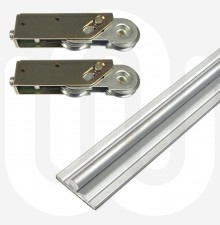 All Round Patio Track & High to Low Line Patio Rollers