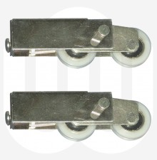 Truth Patio Rollers with Nylon Wheels - Sold and Priced and Pairs