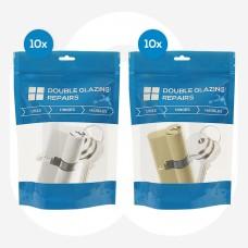 20x Mixed ERA/LSH Standard Euro Cylinders Individually Bagged